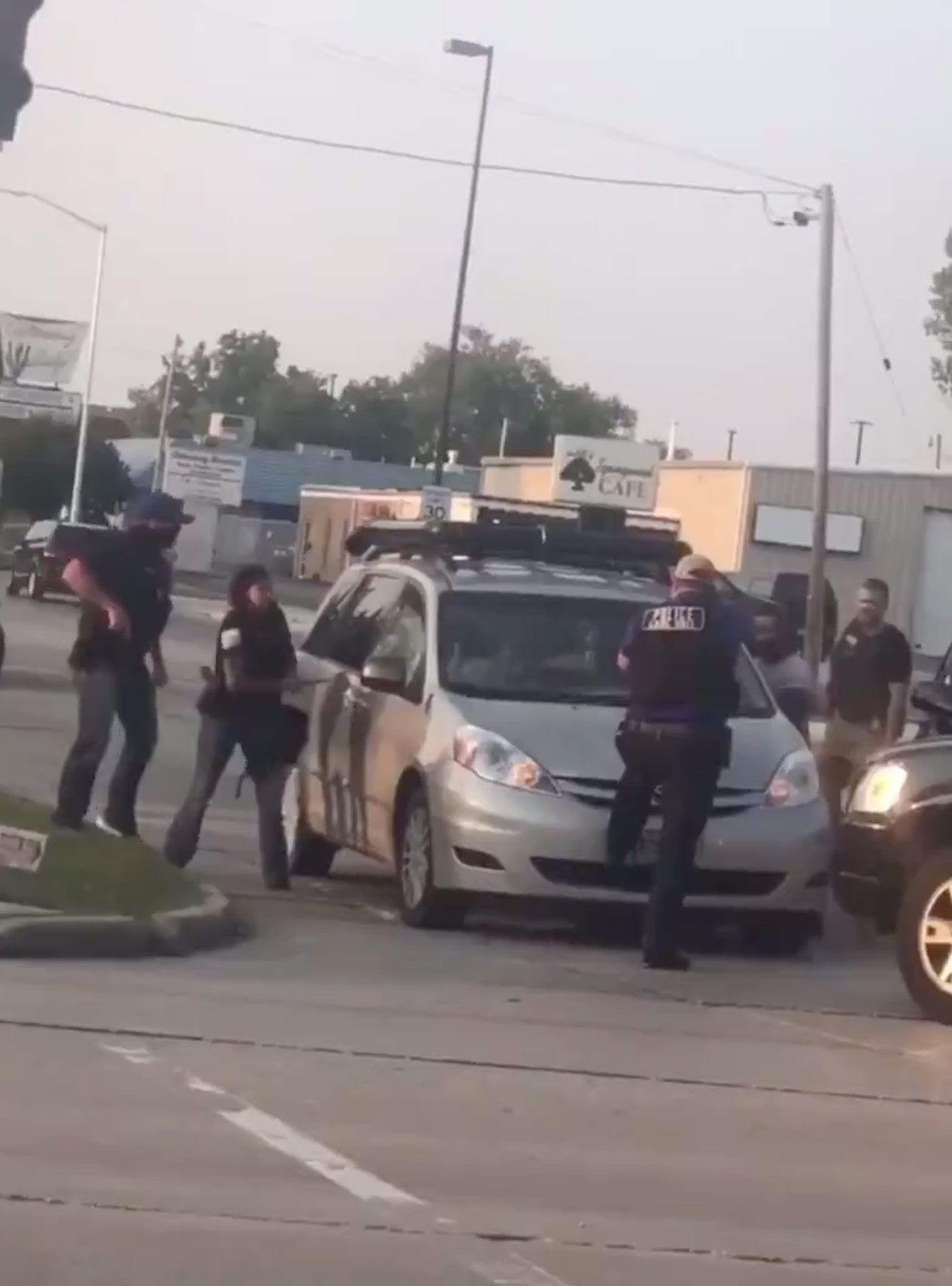 Cops In Kenosha Arrest Mutual Aid Group During Protests