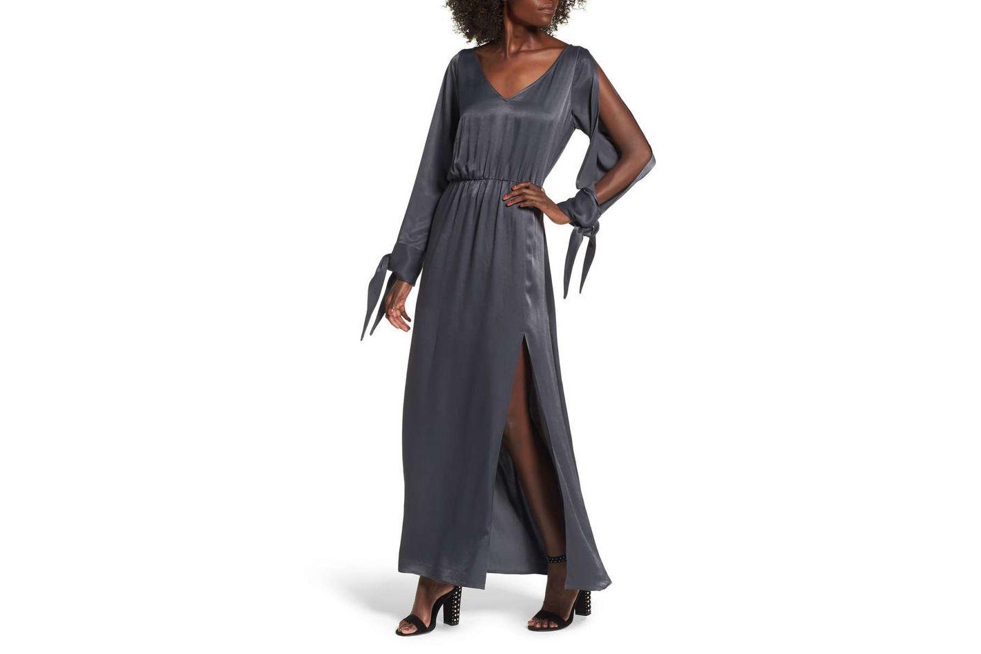 Leith Split-Sleeve Maxi Dress