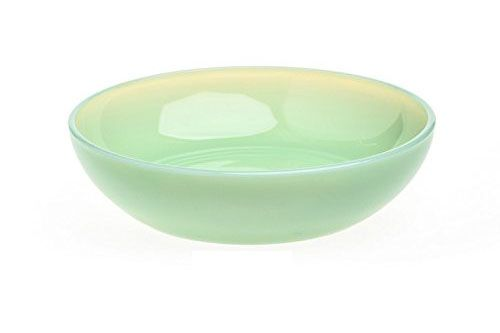 Rosso Glass Jadeite Green Glass Bowl