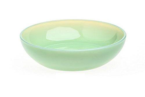 Rosso Glass Jadeite Green Glass Bowl
