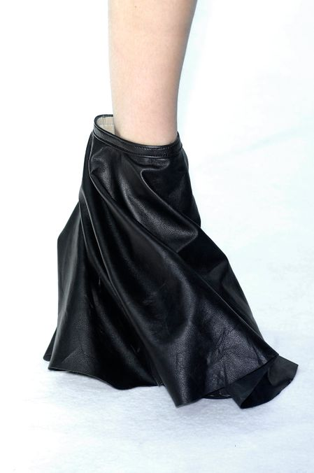 Photo 11 from Rick Owens Covered Wedge Boots, S/S 2009