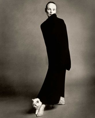 Grace Coddington in 1992.