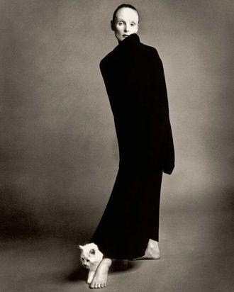 Grace Coddington in 1992.