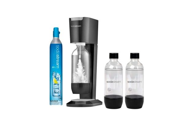 Sodastream Genesis Sparkling Water Maker With 3 Carb Bottles