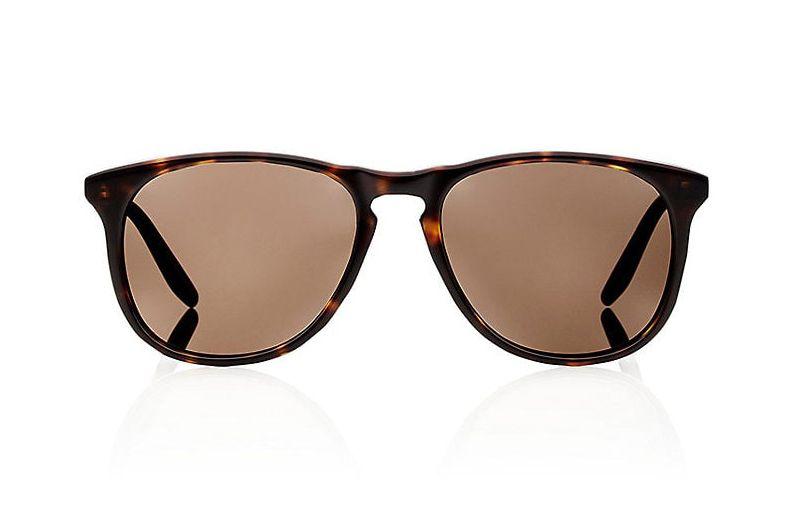 Barton Perreira Dark Walnut Mac Sunglasses.