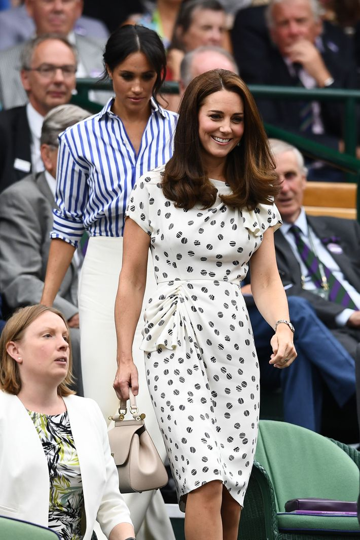 Meghan Markle and Kate Middleton Went to Wimbledon Together