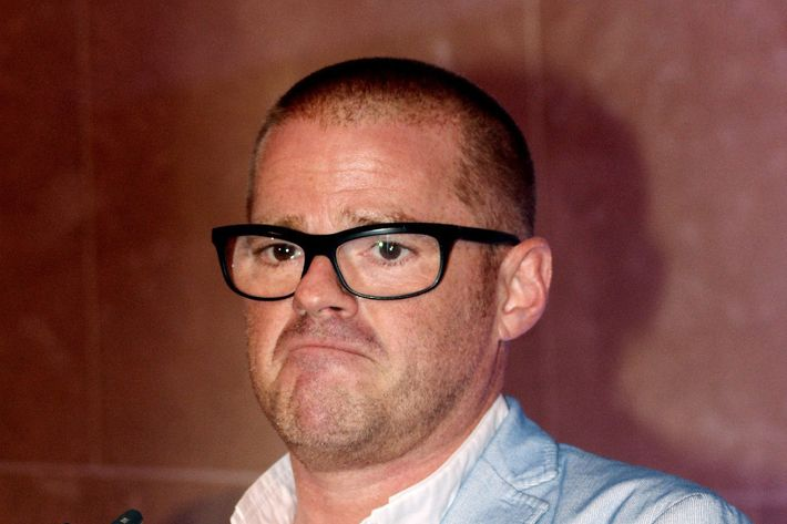 Heston hates it.