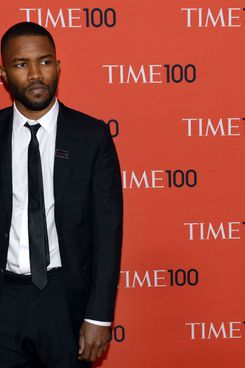 Frank Ocean attends the Time 100 Gala celebrating the Time 100 issue of the Most Influential People In The World at Jazz at Lincoln Center on April 29, 2014 in New York.