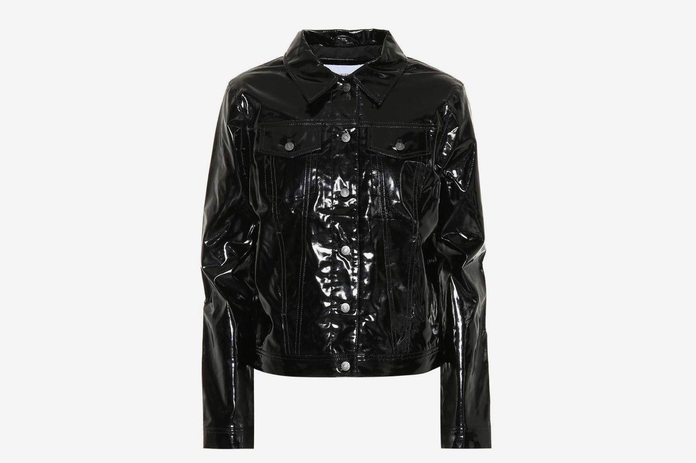 Calvin Klein Jeans Faux Leather Jacket