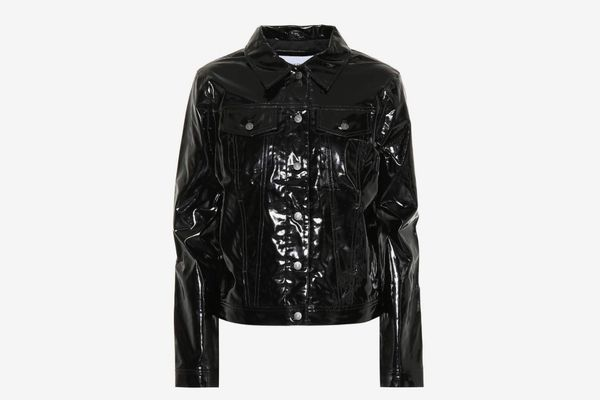 Calvin Klein Jeans Faux Leather Jacket
