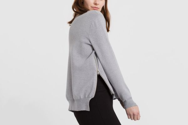 Modern Citizen Side Zip Cashmere Sweater