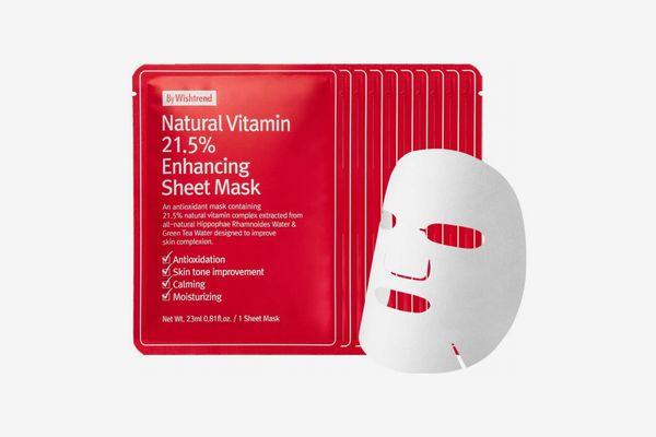 Wishtrend Natural Vitamin Enhancing Sheet Mask