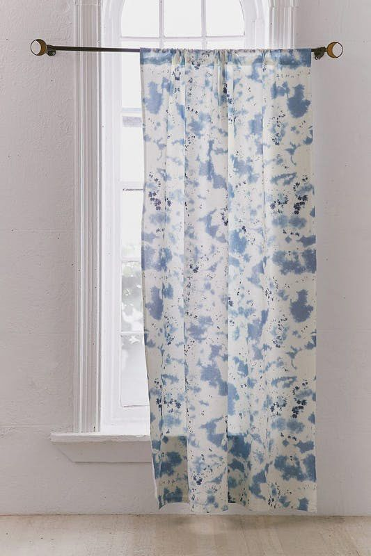 Blackout Shibori Window Curtain