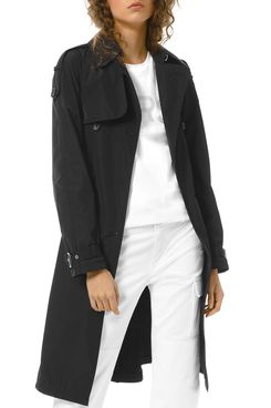MICHAEL Michael Kors Packable Trench Coat