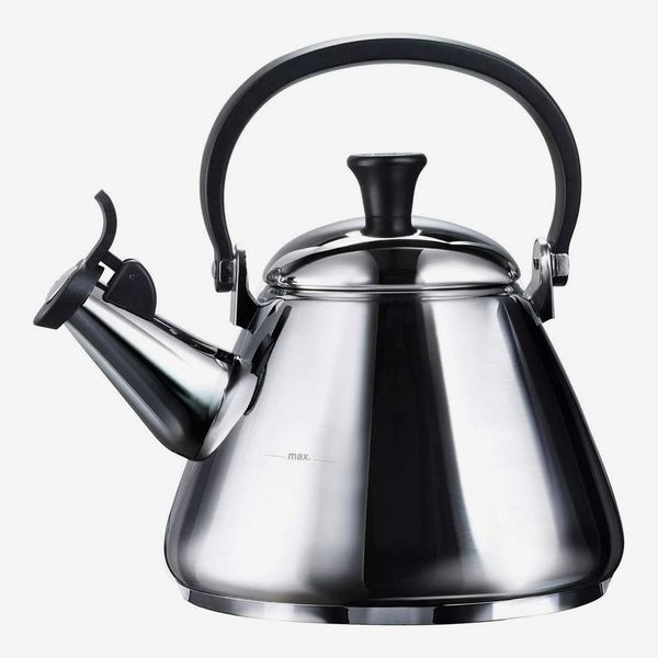 Le Creuset Kone Stove-Top Kettle with Whistle (Mirror)