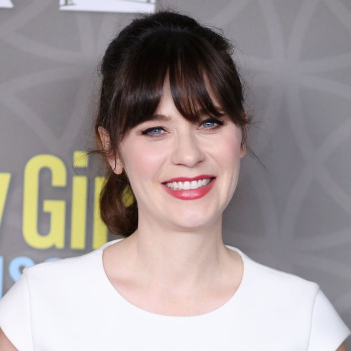 Zooey Deschanel, an adult