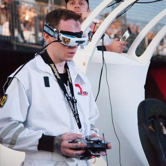 The World Drone Prix Dubai 2016 Competition