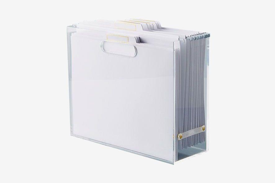 Russel + Hazel Acryclic File Box