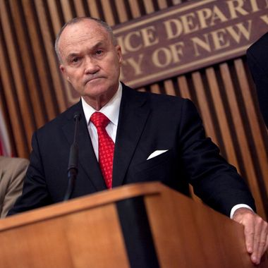 New York City Police Commissioner Ray Kelly holds a news conference at Police Headquarters May 24, 2012 in in New York City. Kelly announced the arrest of Pedro Hernandez, who police say confessed to the 1979 killing of six-year-old Etan Patz.