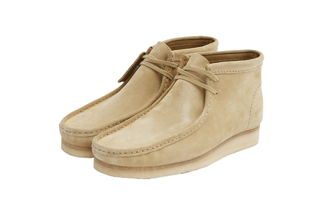 Clarks Wallabee Boot in Maple Suede