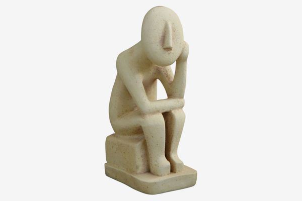 Abstract Cycladic Thinker Statue