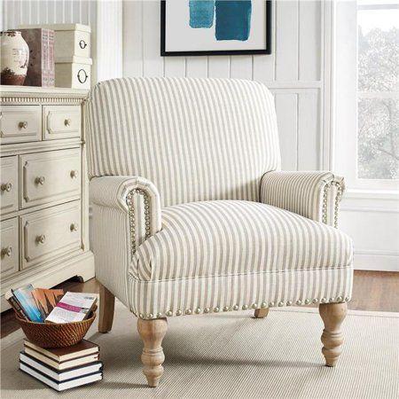 Dorel Living Jaya Accent Chair, Beige