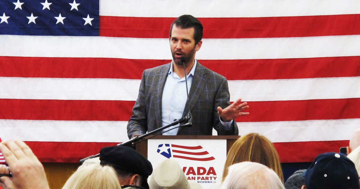 Donald Trump Jr. Expecting to Be Indicted by Mueller Soon