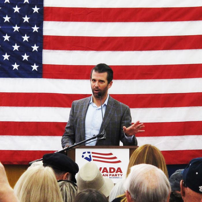 c258d89e3ea Donald Trump Jr. Expecting to be Indicted by Mueller Soon