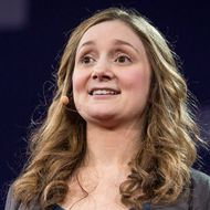 Alice Goffman speaks at TED2015 - Truth and Dare, Session 9, March 16-20, 2015, Vancouver Convention Center, Vancouver, Canada. Photo: Bret Hartman/TED
