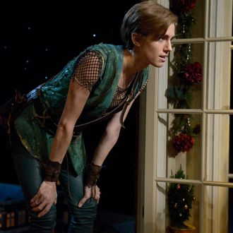 PETER PAN LIVE! -- Dress Rehearsal -- Pictured: Allison Williams as Peter Pan -- (Photo by: Virginia Sherwood/NBC)