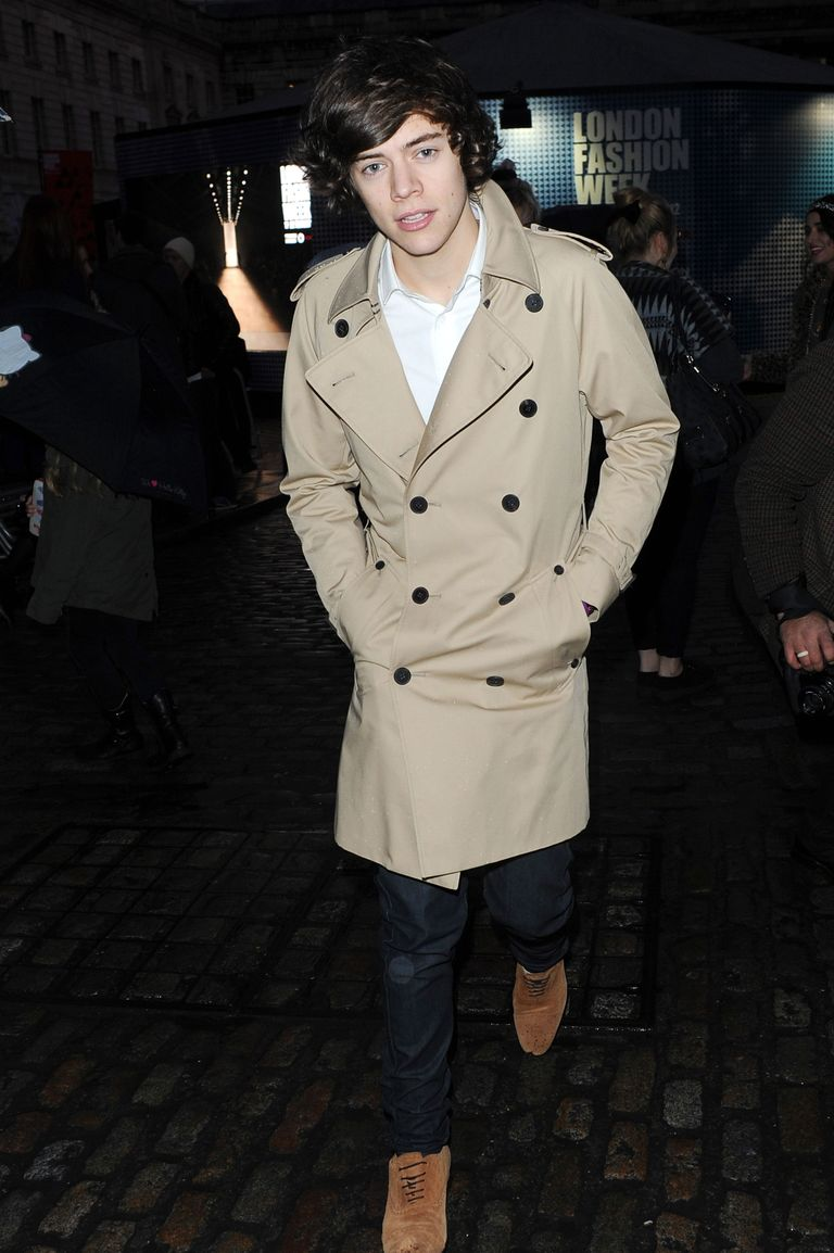 6 Fashion Tips For Really Cold Winter Weather StyleCaster Harry styles at london fashion week