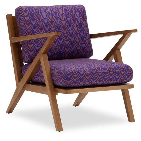 Drew Barrymore Flower Home Vintage Sun Mid-Century Accent Chair