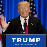 Donald Trump Delivers Campaign Speech