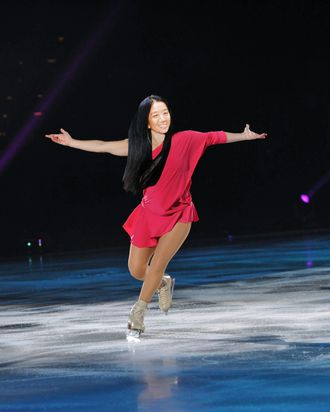 Vera Wang is an ice skating queen.