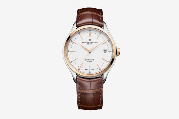 Clifton Baumatic Round 40mm Steel Watch
