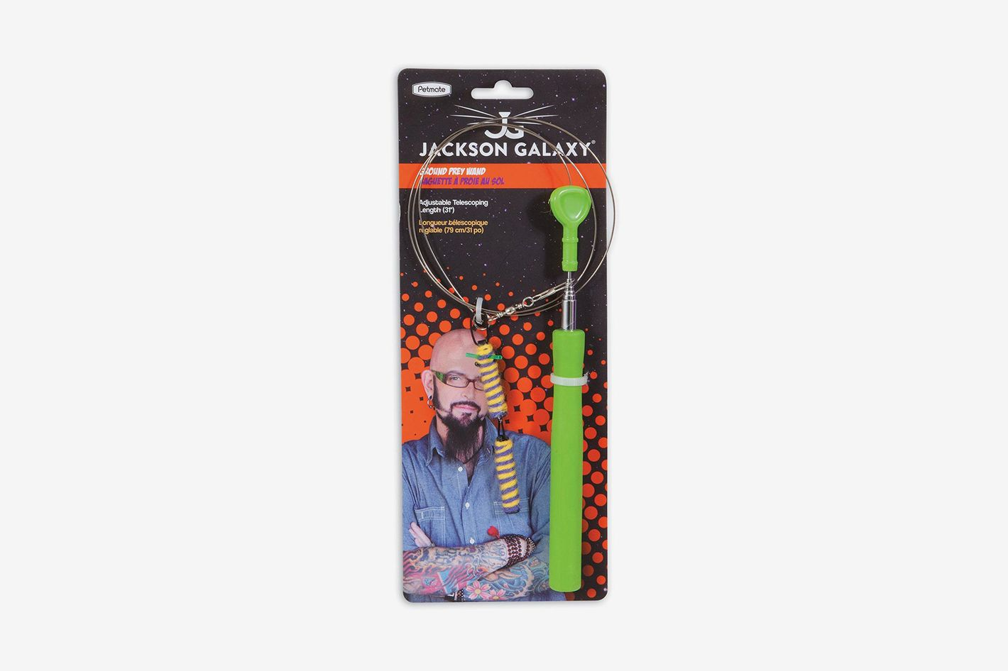 Jackson Galaxy Ground Prey Wand Teaser