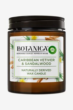 BOTANICA By Air Wick Air Wax Candle Vetiver and Sandalwood, 205g