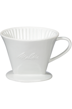 Melitta Porcelain Pour-Over Single Serving Coffee Brewer