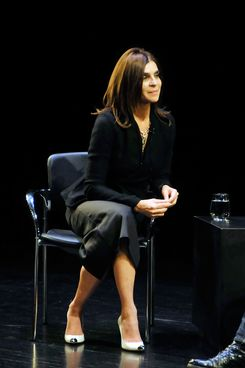 Carine Roitfeld attends the In Discussion with Carine Roitfeld event at Florence Gould Hall on November 5, 2012 in New York City.