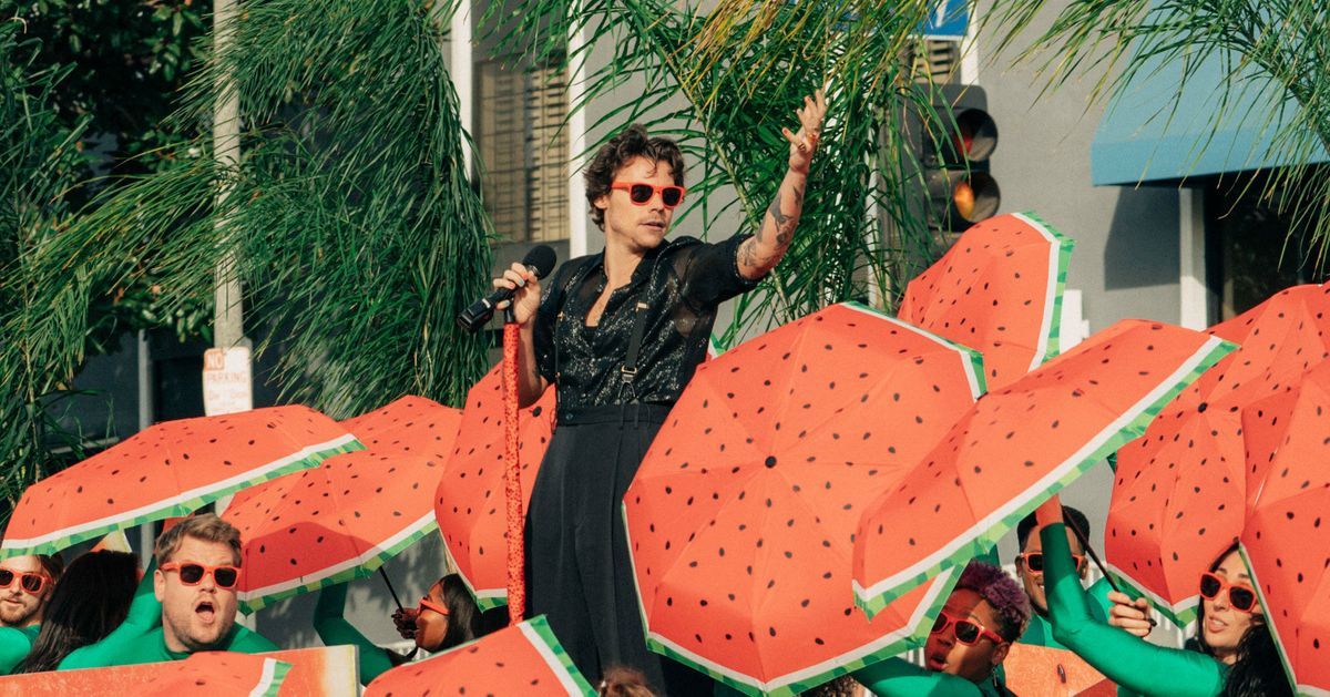 How Many Times Does Harry Styles Mention Fruit on Fine Line?