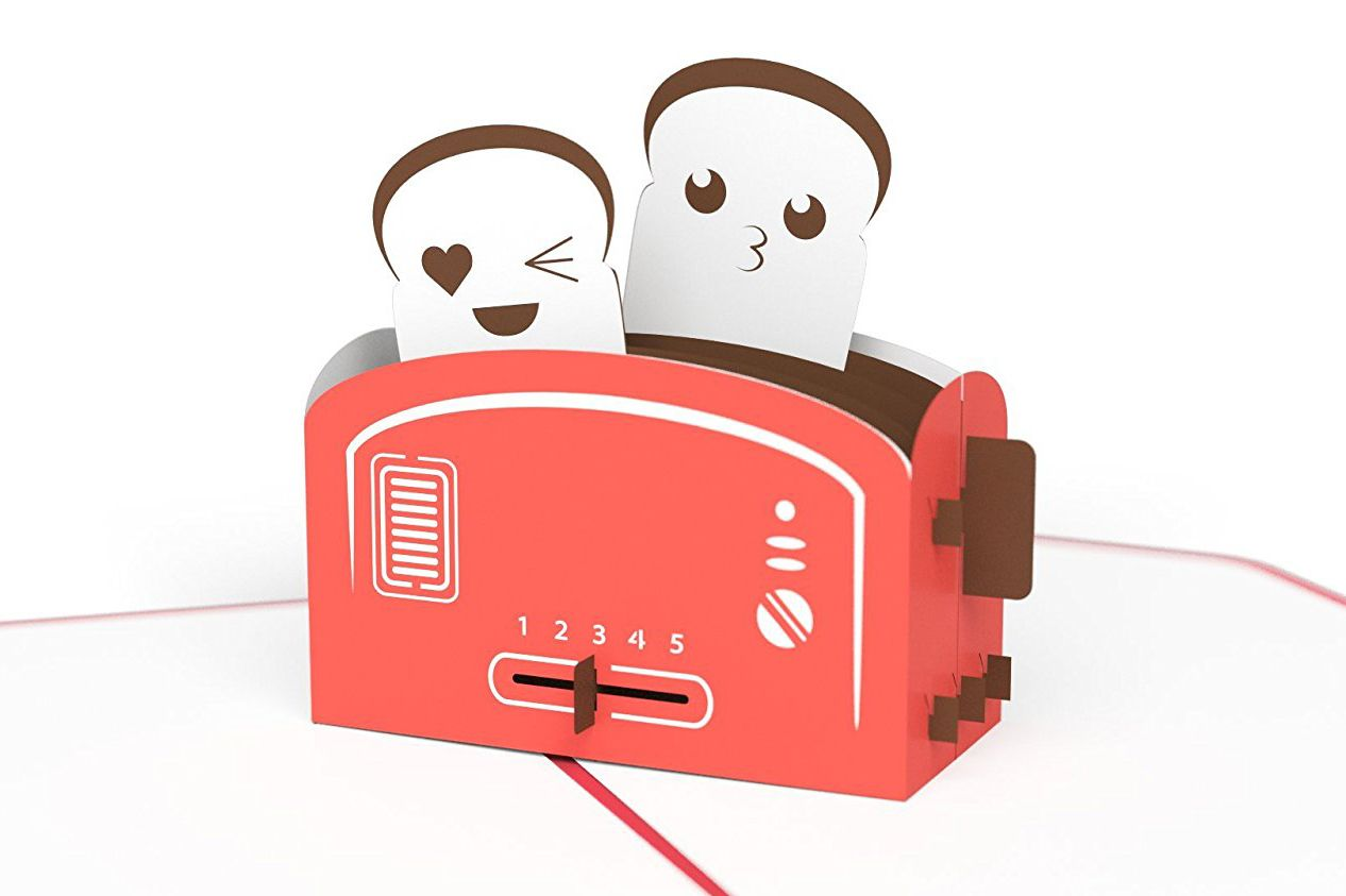 Lovepop Love Toaster Valentine's Day Pop-up Card