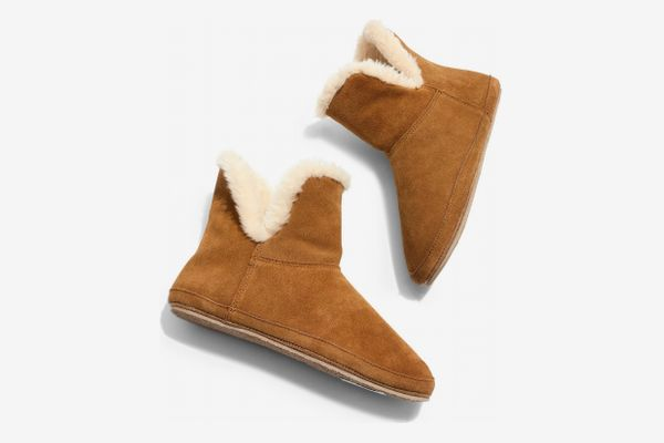 Madewell Suede Slipper Bootie