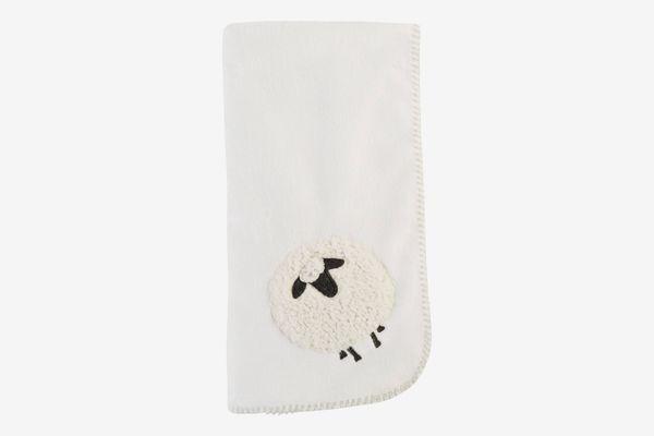 Mud Pie Sheep Fleece Blanket