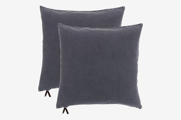 KAF Home Washed Denim Decorative Pillow Cover