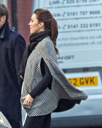Kate Middleton, pregnant.