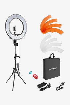 Neewer Dimmable LED Ring Light Kit with Light Stand and Carrying Bag