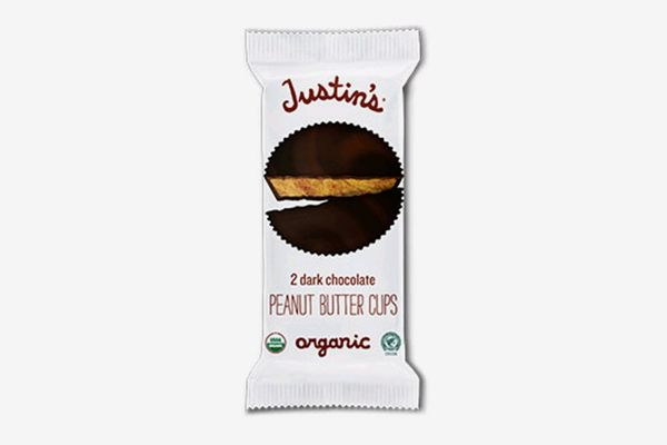 Justin's Dark Chocolate Peanut Butter Cups 1.4oz — 6 Pack
