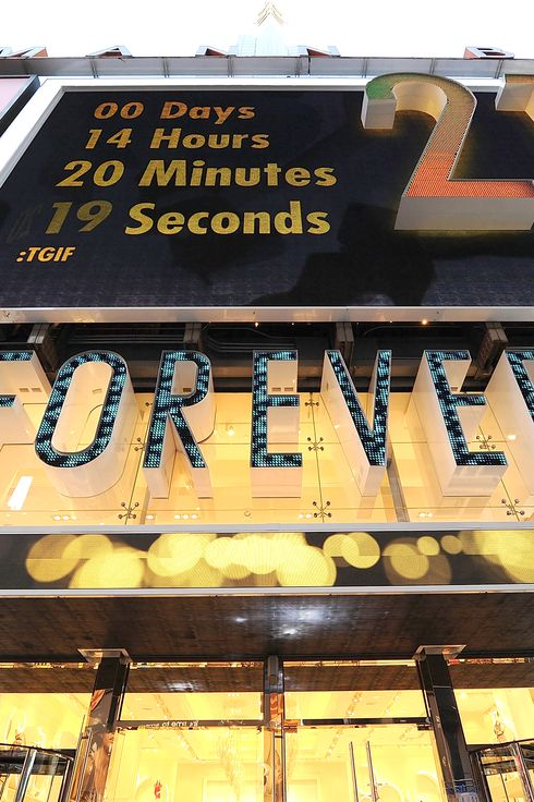 Forever 21 Opening in France