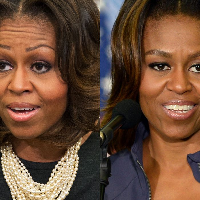 Michelle Obama Unveils Her New Power Brows