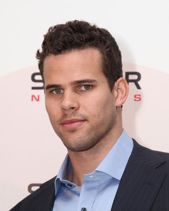 NEW YORK, NY - NOVEMBER 17: Kris Humphries announces his brand endorsements at the Trump SoHo on November 17, 2011 in New York City. (Photo by Donald Bowers/Getty Images)
